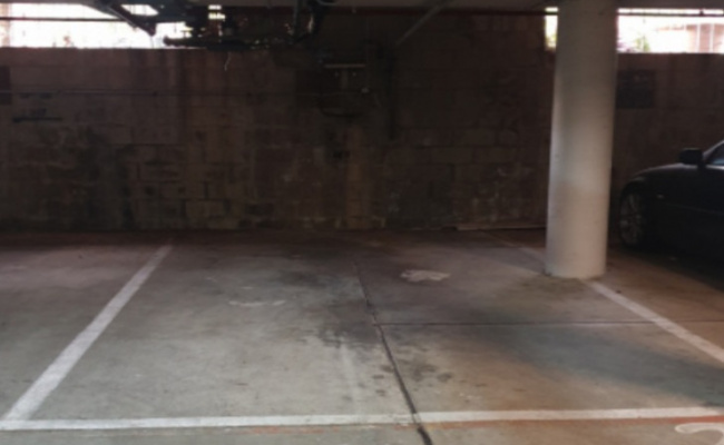Secure parking space 5 minutes walk to central and Redfern station