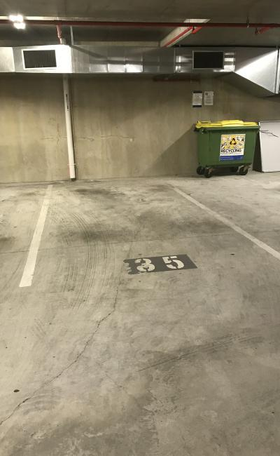 Indoor lot parking on Melbourne Street in South Brisbane Queensland