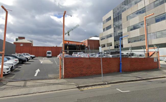 Outdoor lot parking on Melville Street in Hobart Tasmania
