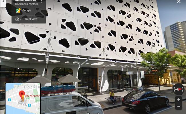 Undercover parking on Merchant Street in Docklands Victoria 3008