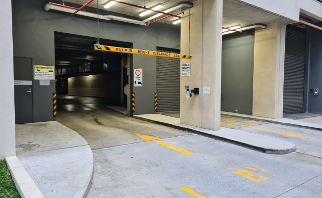Indoor lot parking on Muller Lane in Mascot New South Wales