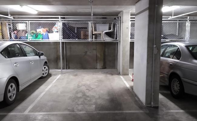 Indoor lot parking on Napoleon Street in Collingwood Victoria