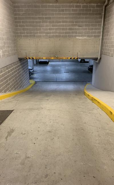 Indoor lot parking on Neild Avenue in Darlinghurst New South Wales