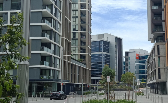 Indoor lot parking on Network Place in North Ryde