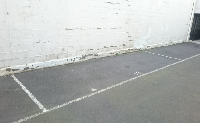 Secure parking space, short walk to station!