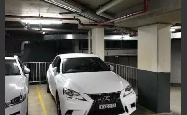 Undercover parking on Newland St in Bondi Junction NSW 2022