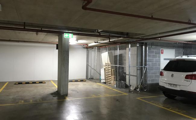 Indoor lot parking on Nipper Street in Homebush NSW