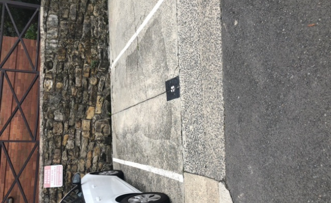 Driveway parking on Nook Avenue in Neutral Bay New South Wales 2089