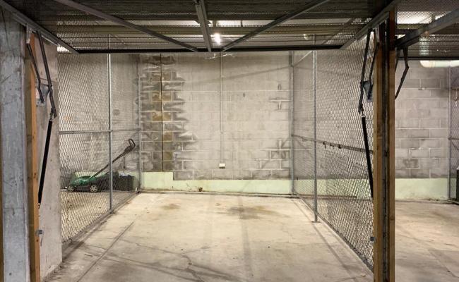 Lock up garage parking on Nook Avenue in Neutral Bay