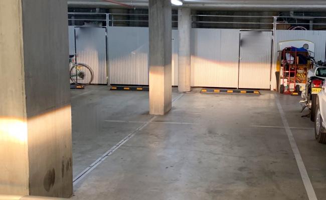 Indoor lot parking on Northbourne Avenue in Lyneham ACT