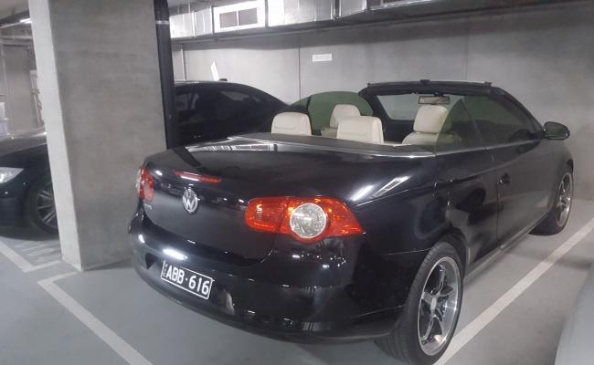 Undercover parking on Nott Street in Port Melbourne VIC