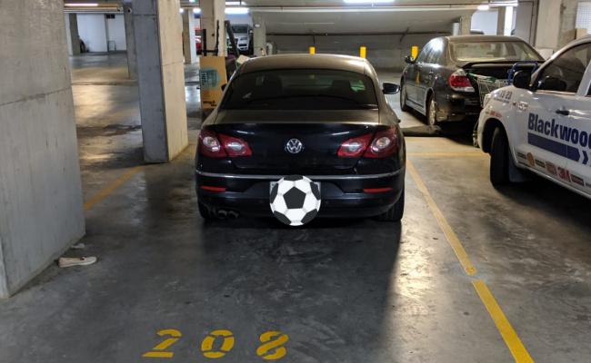 Indoor lot parking on O'Riordan Street in Mascot NSW