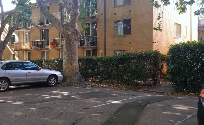 Outside parking on O'shanassy Street in North Melbourne Victoria 3051