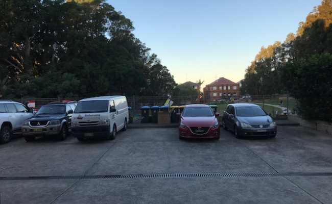 Outdoor lot parking on Ocean Street North in Bondi New South Wales