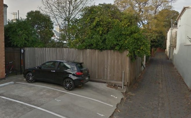 Outdoor lot parking on Osborne Street in South Yarra VIC