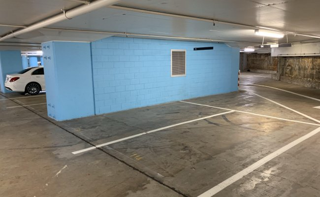 Indoor lot parking on Oxford Street in Bondi Junction NSW 2022