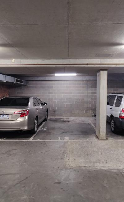 Secure undercover parking near Smith Street