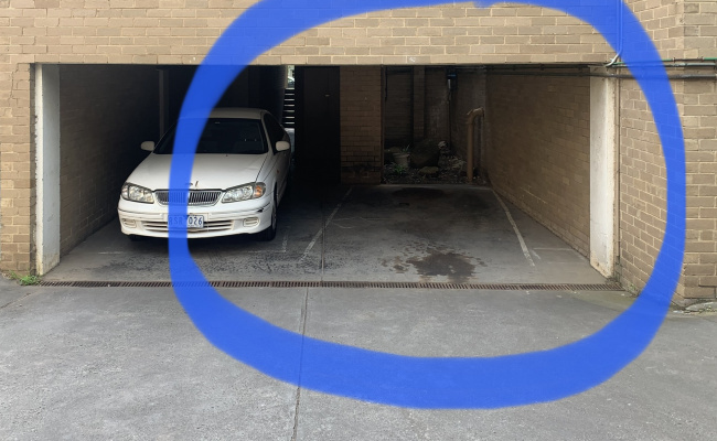 Undercover parking on Park Drive in Parkville Victoria