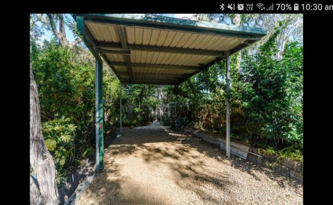 Caravan space parking on Parkes Drive in Helensvale QLD