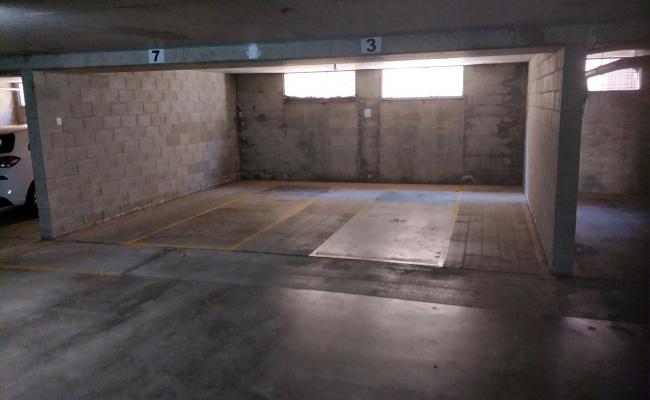 Indoor lot parking on Parnoo Street in Surfers Paradise Queensland