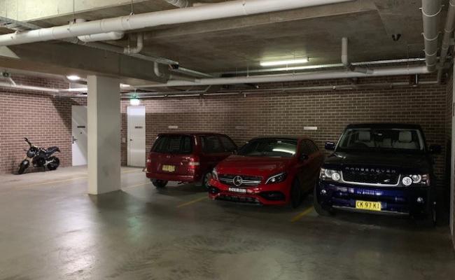 Lock up garage parking on Parramatta Road in Camperdown