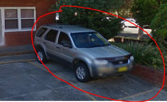 Driveway parking on Parramatta Street in Cronulla NSW