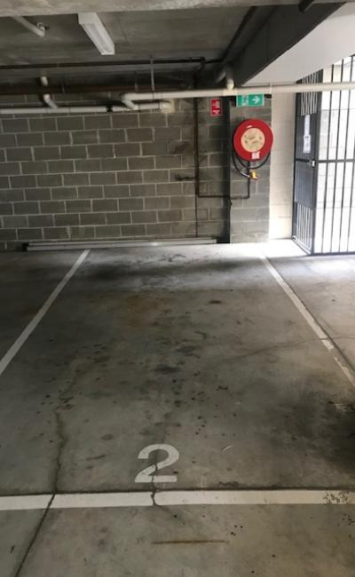 Undercover parking on Pitt Street in Parramatta NSW