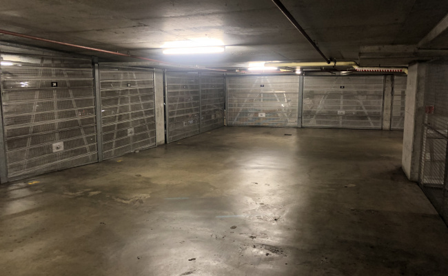 Lock up garage parking on Pitt Street in Sydney NSW