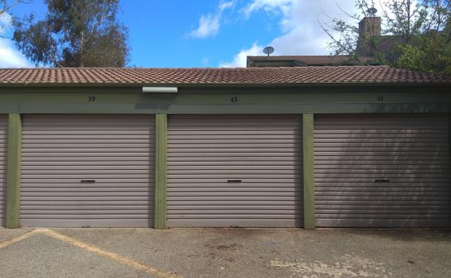 Lock up garage parking on Playfair Place in Belconnen Australian Capital Territory
