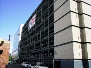 parking on Playhouse Lane in Adelaide