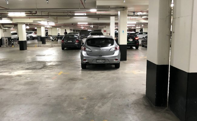Undercover parking on Potter Street in Waterloo