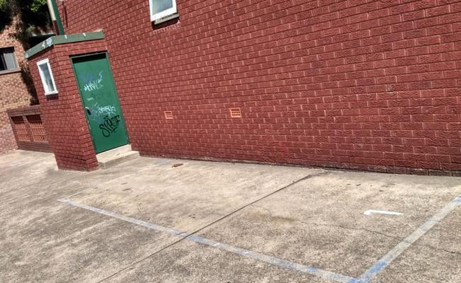 Outdoor lot parking on President Avenue in Kogarah