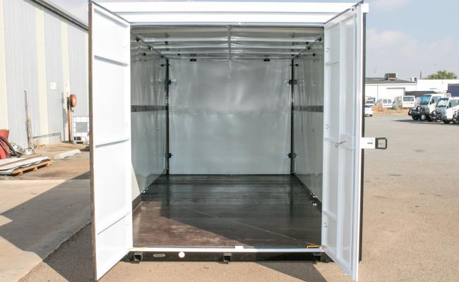 Self-storage Facility parking on President Street in Welshpool Western Australia