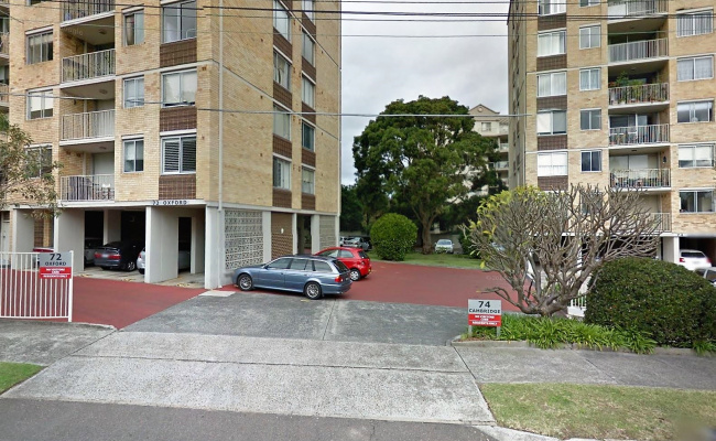 Outdoor lot parking on Prince Street in Mosman NSW 2088