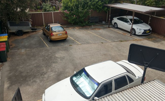 Concealed Off-Street Parking on Princes Highway