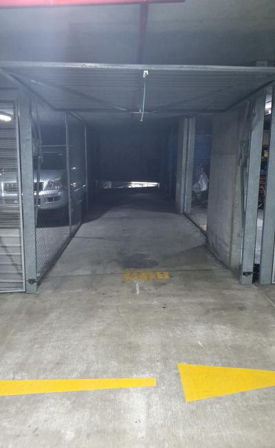 Lock up garage parking on Pyrmont Street in Pyrmont New South Wales