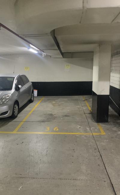 Underground carspace  parking on Quay Street in Haymarket NSW