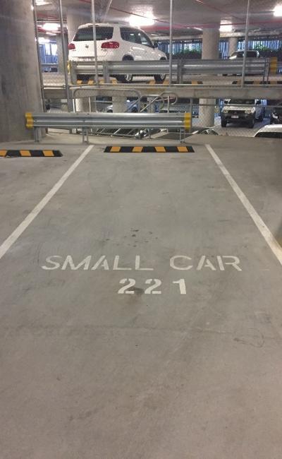 Indoor lot parking on Queen Street in Brisbane City QLD