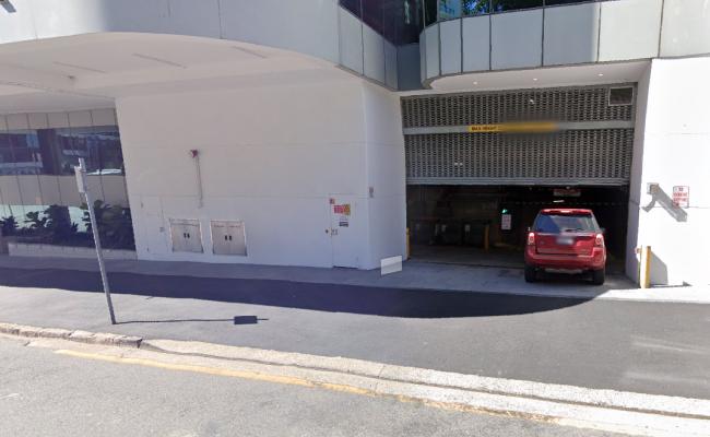 Lock up garage parking on Queen Street in Brisbane City Queensland