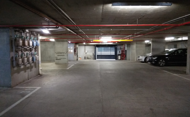 Indoor lot parking on Queen Street in Melbourne Victoria