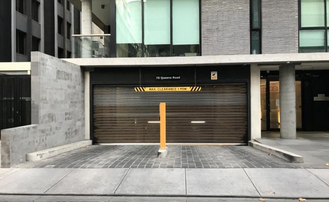 Indoor lot parking on Queens Road in Melbourne Victoria