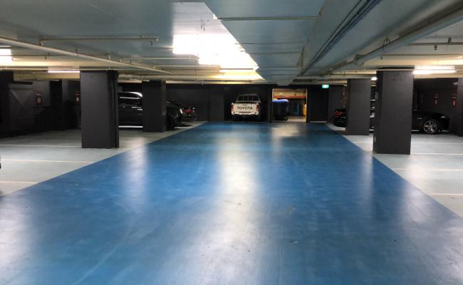 Lock up garage parking on Queens Road in Melbourne Victoria