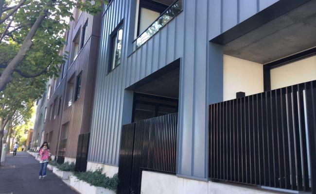 Lock up garage parking on Queensberry Street in North Melbourne Victoria