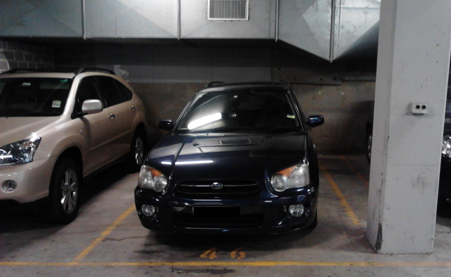 Indoor lot parking on Randle Street in Surry Hills New South Wales