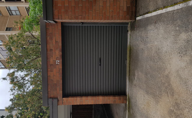 Lock up garage parking on Rangers Road in Cremorne New South Wales