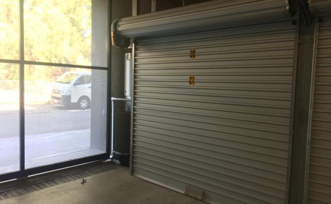 Lock up garage parking on Regent Street in Richmond VIC