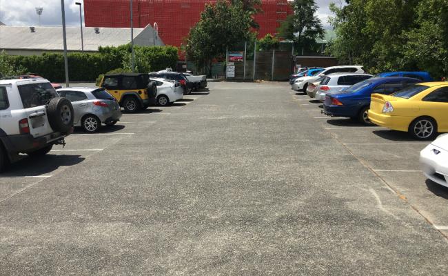 Outdoor lot parking on Reid St in Woolloongabba