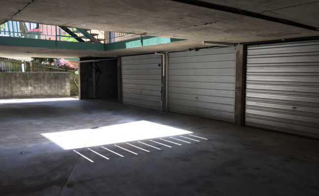 Lock up garage parking on Ridley Street in Auchenflower Queensland