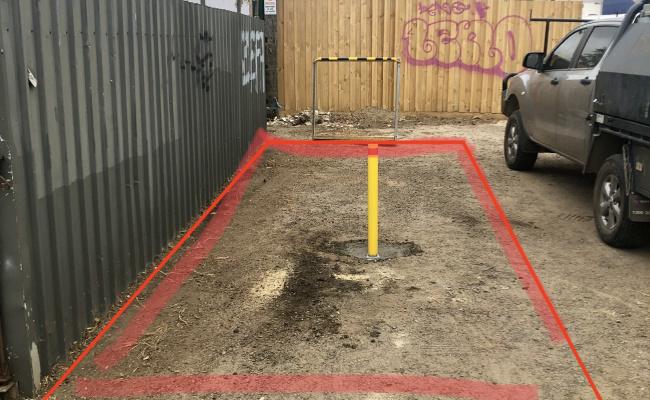 Outdoor lot parking on Ripley Street in Geelong West