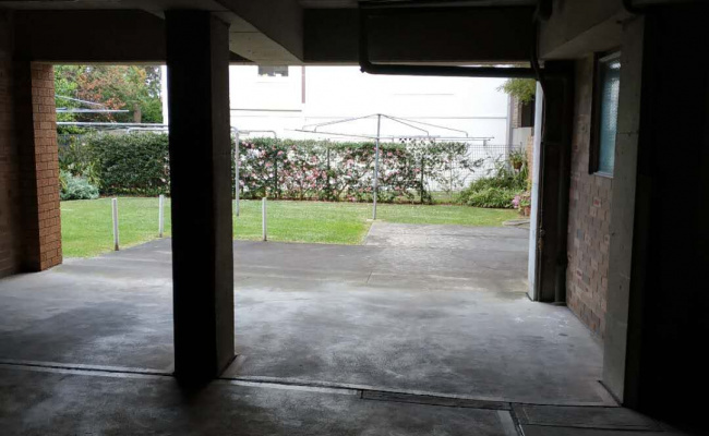 Carport parking on Rocklands Road in Wollstonecraft New South Wales